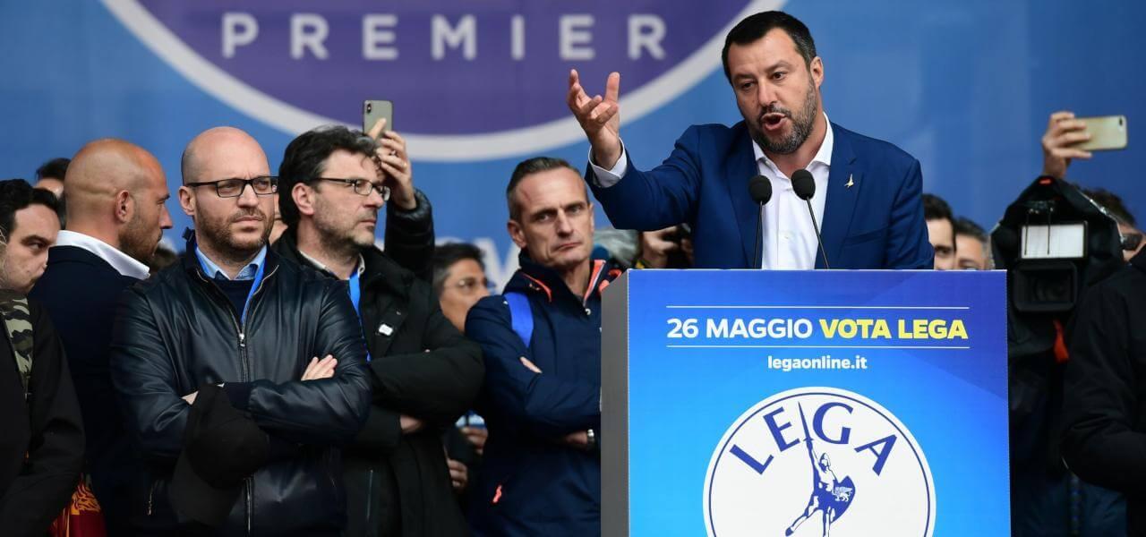 Matteo Salvini, lega