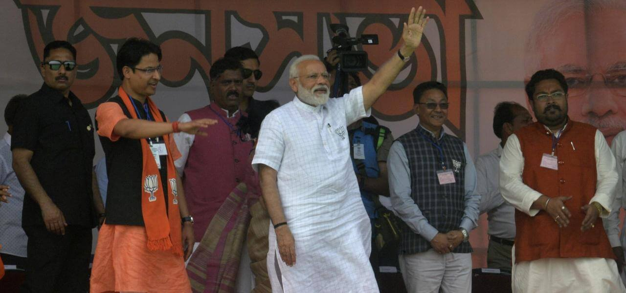 Elezioni India, il Premier Narendra Modi