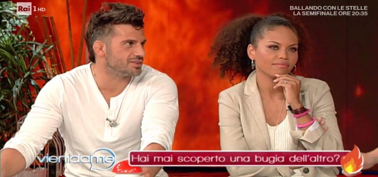 Marco Maddaloni e Romina a Vieni da me