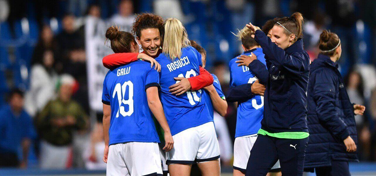 rosucci galli nazionale calcio femminile donne 2019