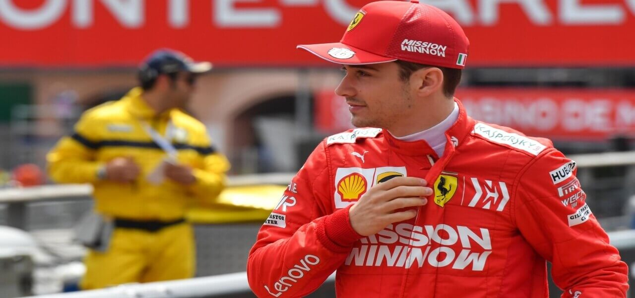 Leclerc griglia Formula 1