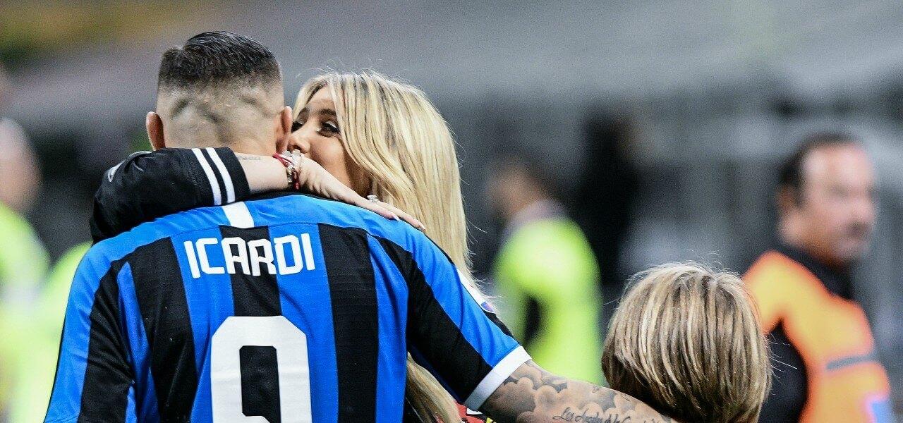 Icardi Wanda Inter Empoli lapresse 2019
