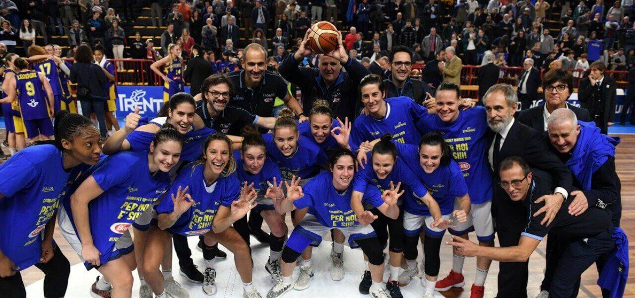 Italia basket femminile gruppo twitter 2019
