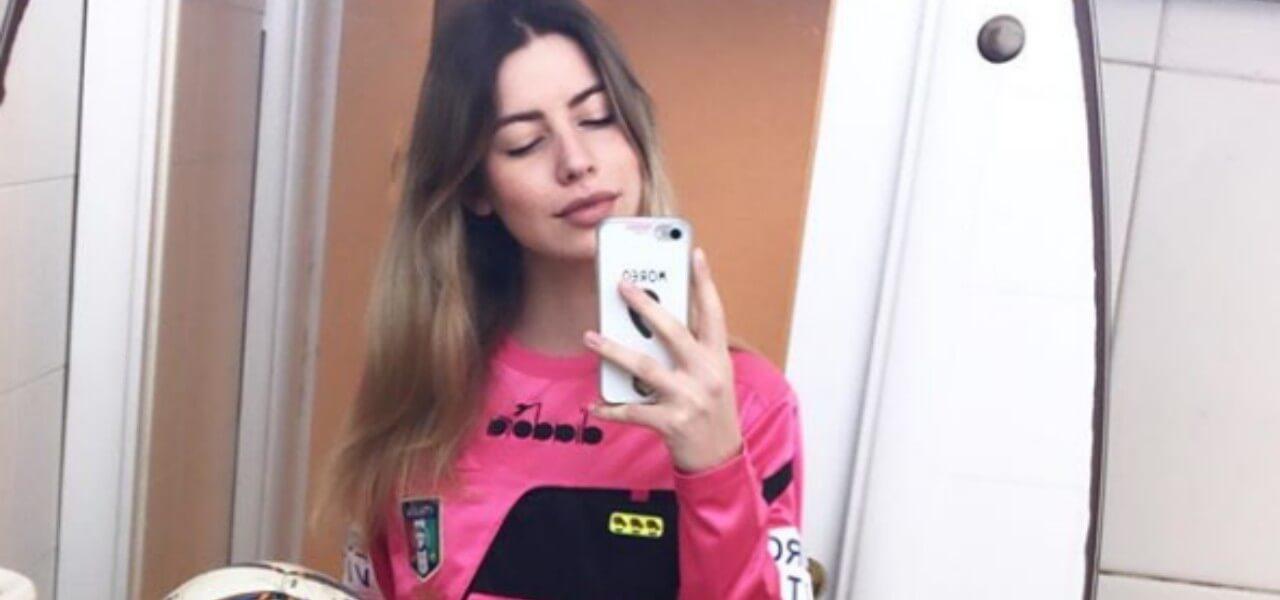 giulia nicastro arbitro 2019 instagram
