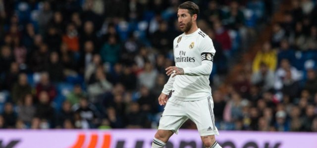 Sergio Ramos, capitano del Real Madrid