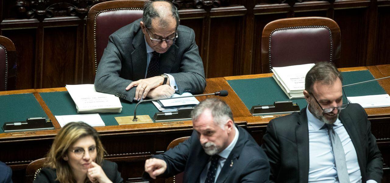 Ministero dell'Economia, Tria e i vice