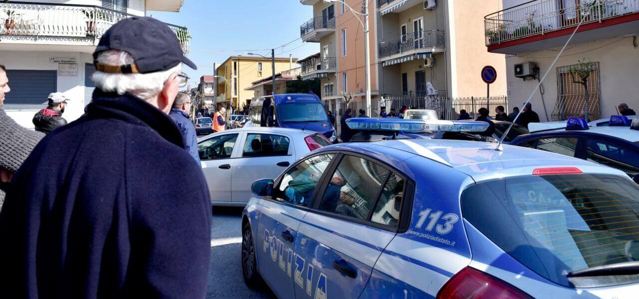 Polizia a Napoli