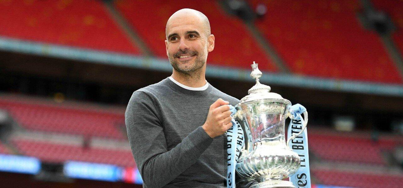 guardiola allenatore Manchester City