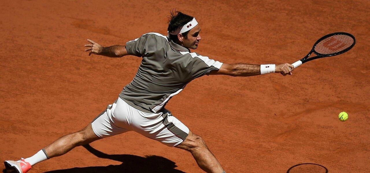 Roger Federer Roland Garros lapresse 2019