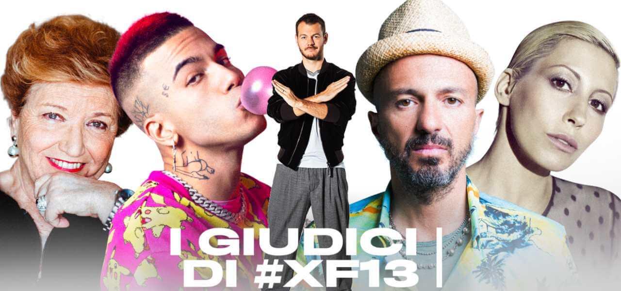 I giudici di X Factor 13