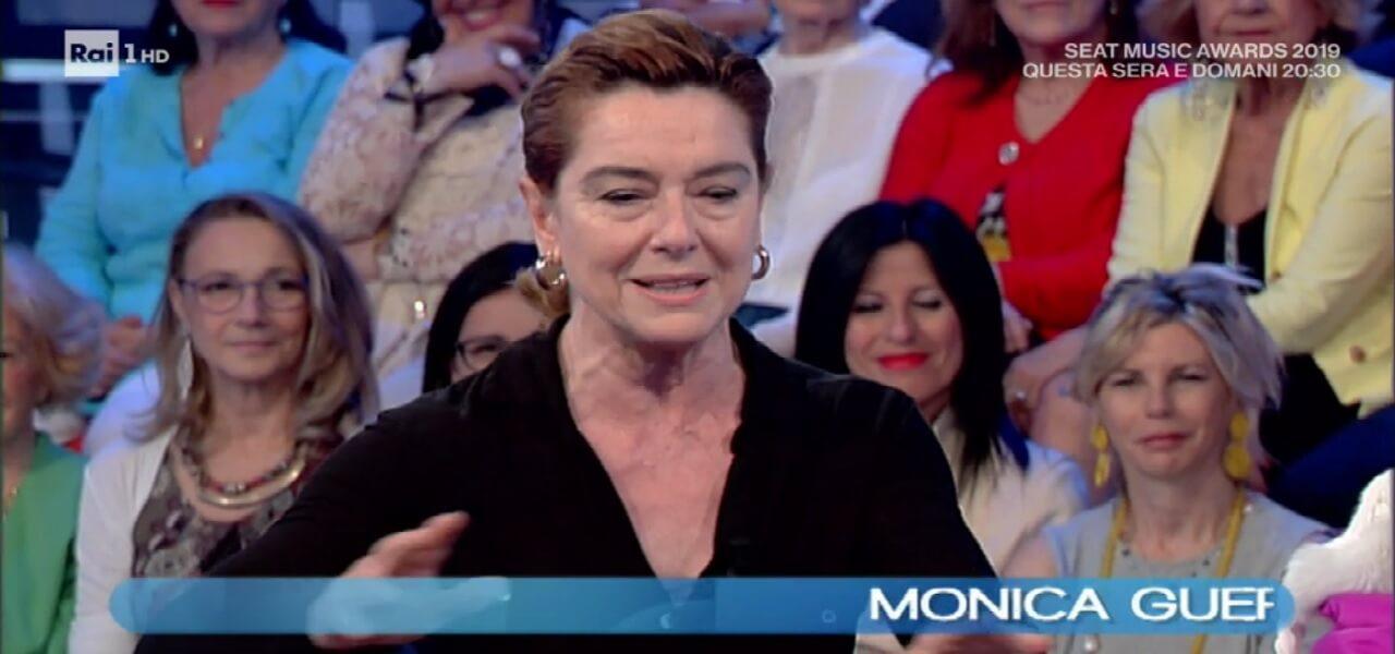 """Monica Guerritore/ """"Ho amato Giancarlo Giannini. Ci siamo lasciati e ..."""