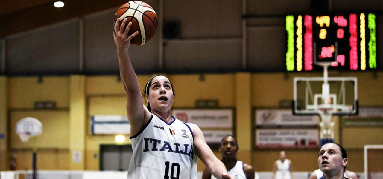 Nicole Romeo Italia basket donne lapresse 2019