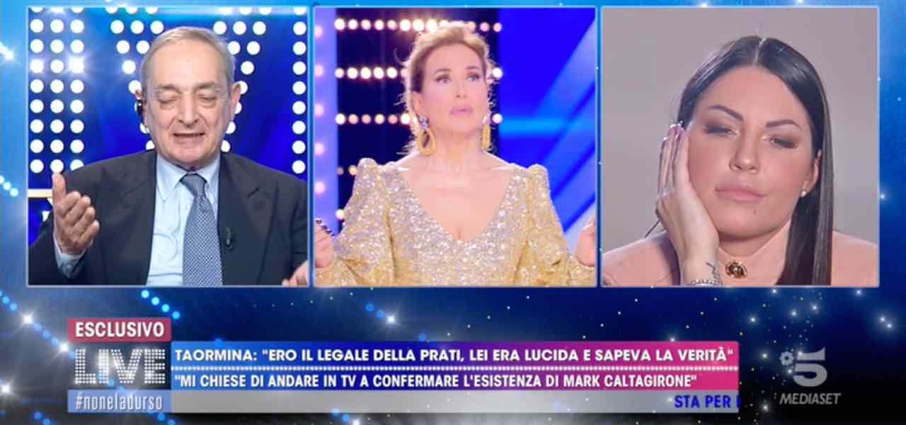 Eliana Michelazzo a Live Non è la D'Urso