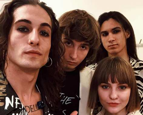 maneskin 2019 instagram