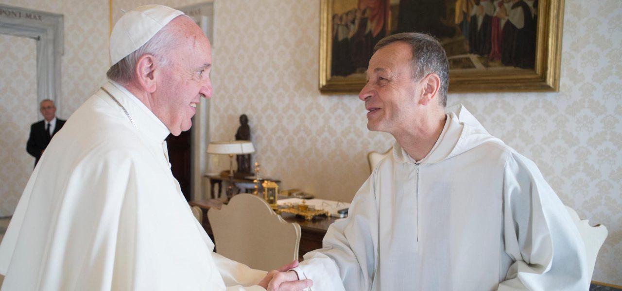 Priore Taizé dal Papa