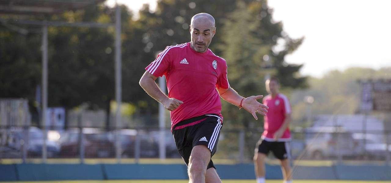 Paolo Montero allenamento Juventus lapresse 2019