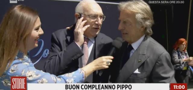 "Pippo Baudo a ""Storie Italiane"""