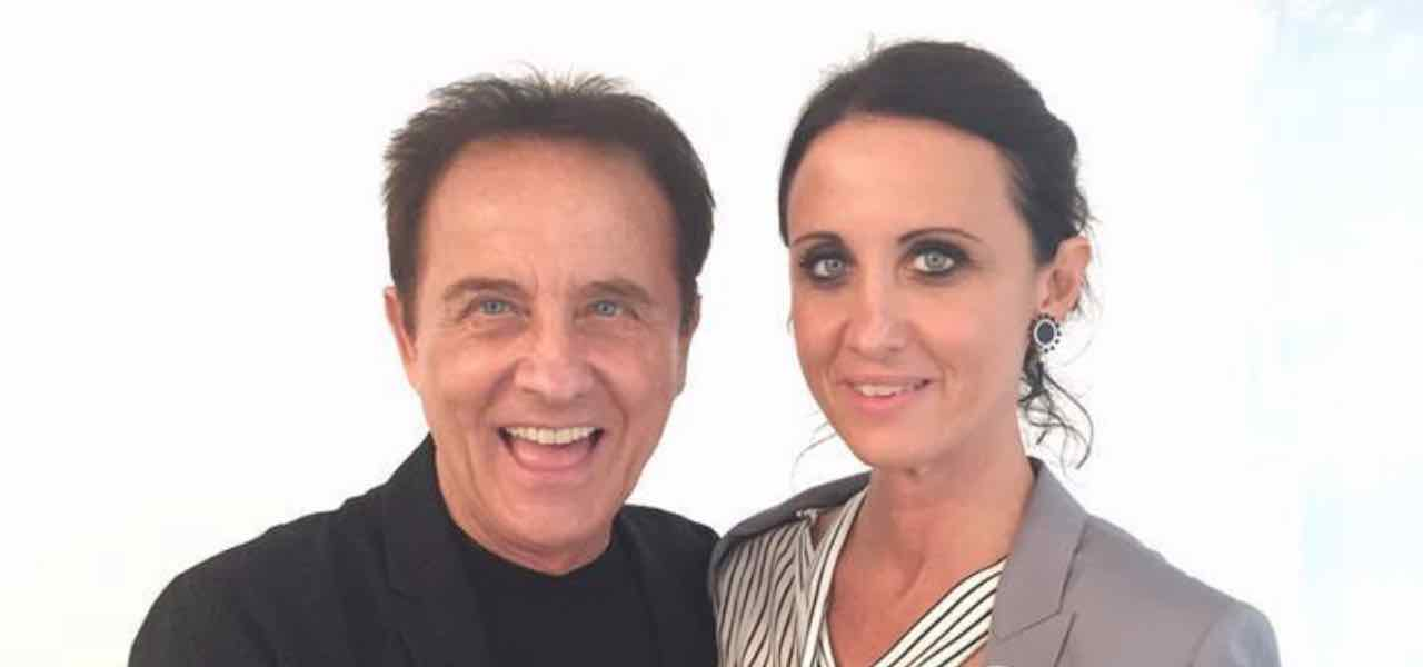 Roby Facchinetti e la figlia Alessandra