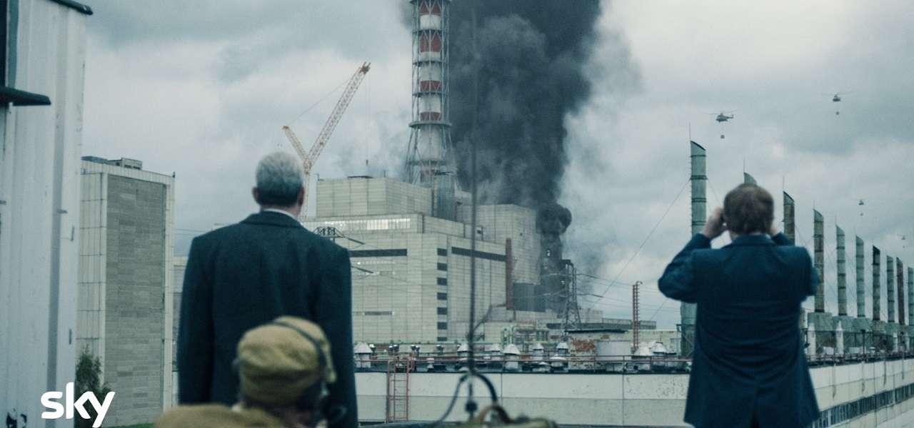 Chernobyl, un'immagine tratta dalla serie