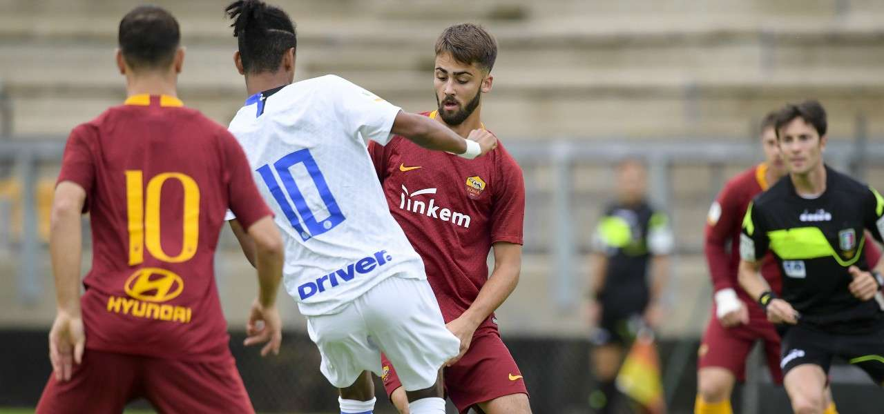 Pezzella Roma Inter Primavera lapresse 2019
