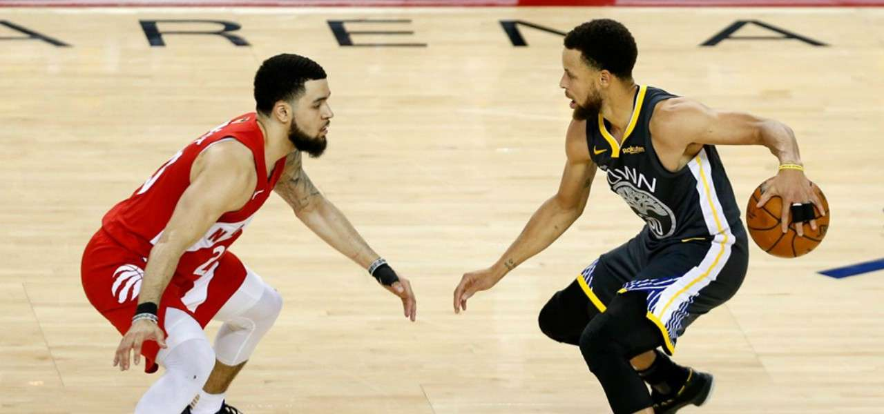 VanVleet Cuurry Golden State Toronto facebook 2019