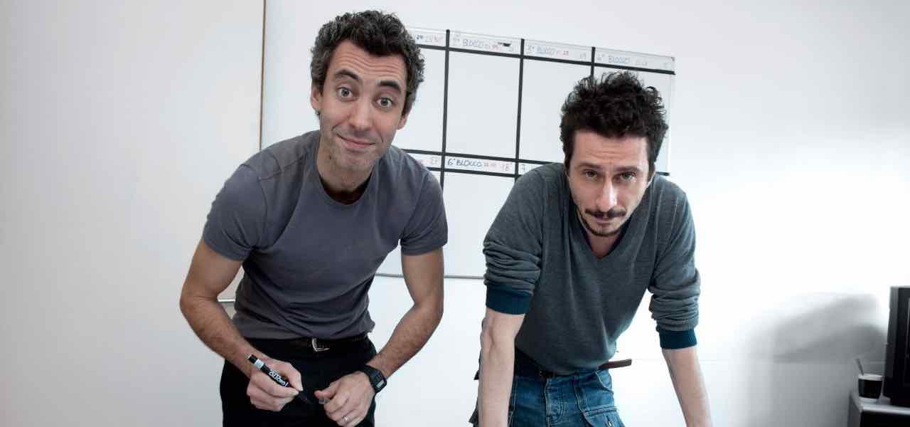 Luca e Paolo a Ballata per Genova