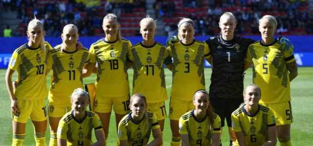 svezia calcio femminile