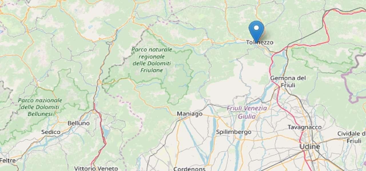 Terremoto Friuli-Venezia Giulia