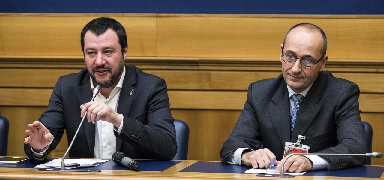 Salvini e Bagnai