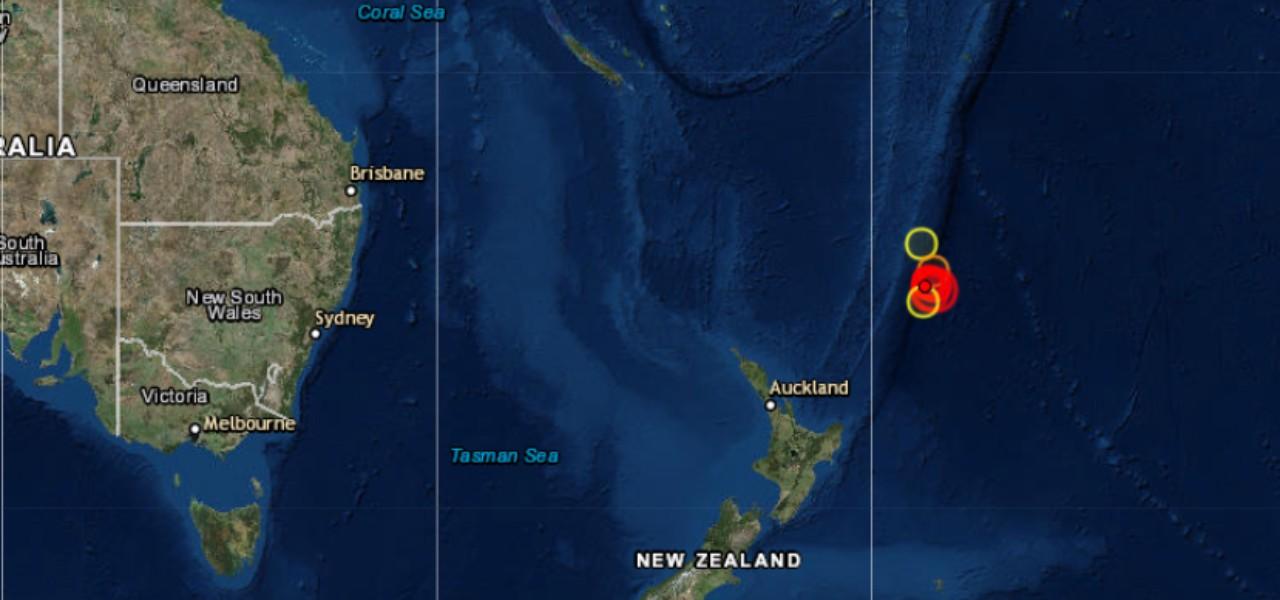 Terremoto in Nuova Zelanda