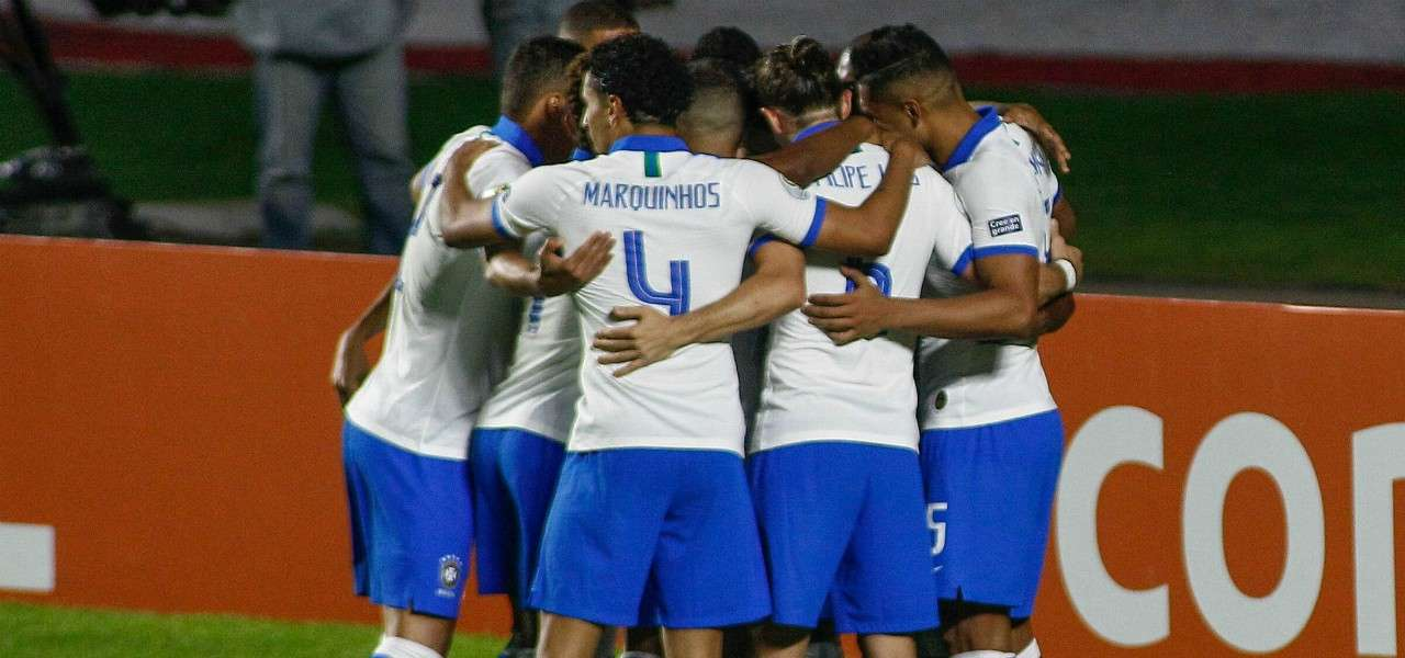 Brasile gol gruppo Copa America lapresse 2019