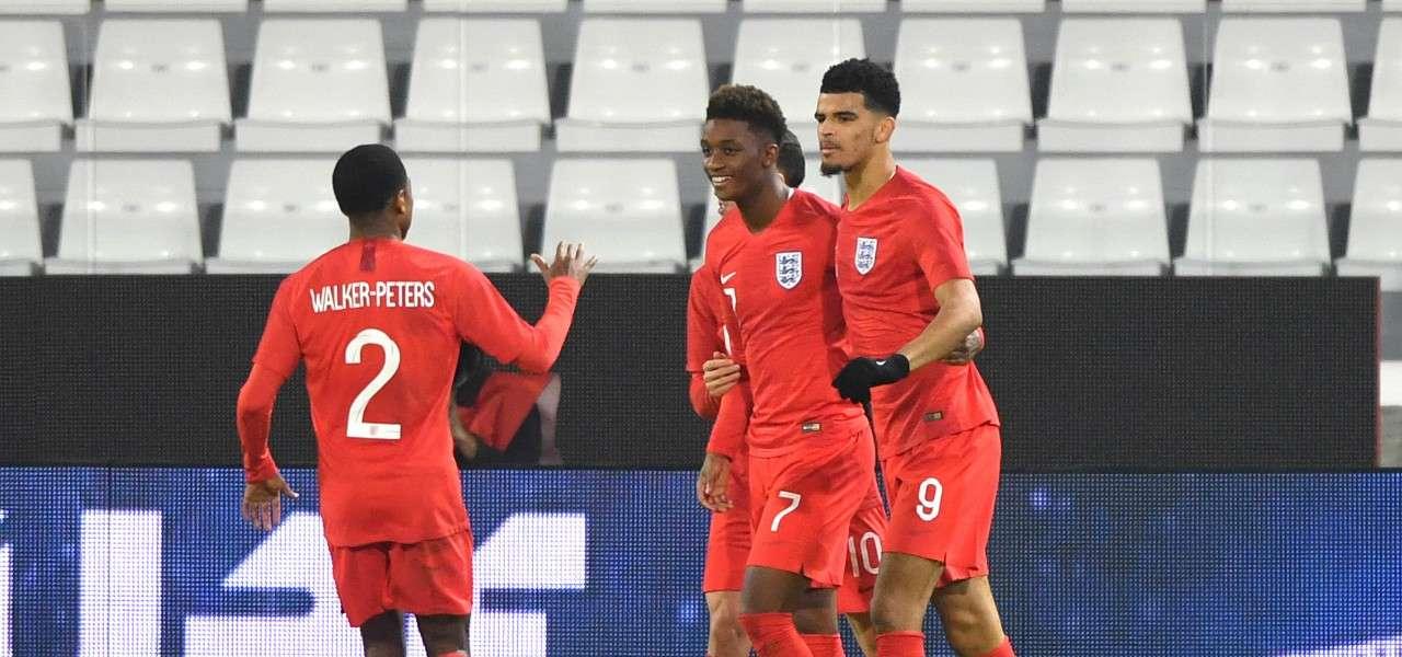 Solanke Inghilterra Under 21 lapresse 2019