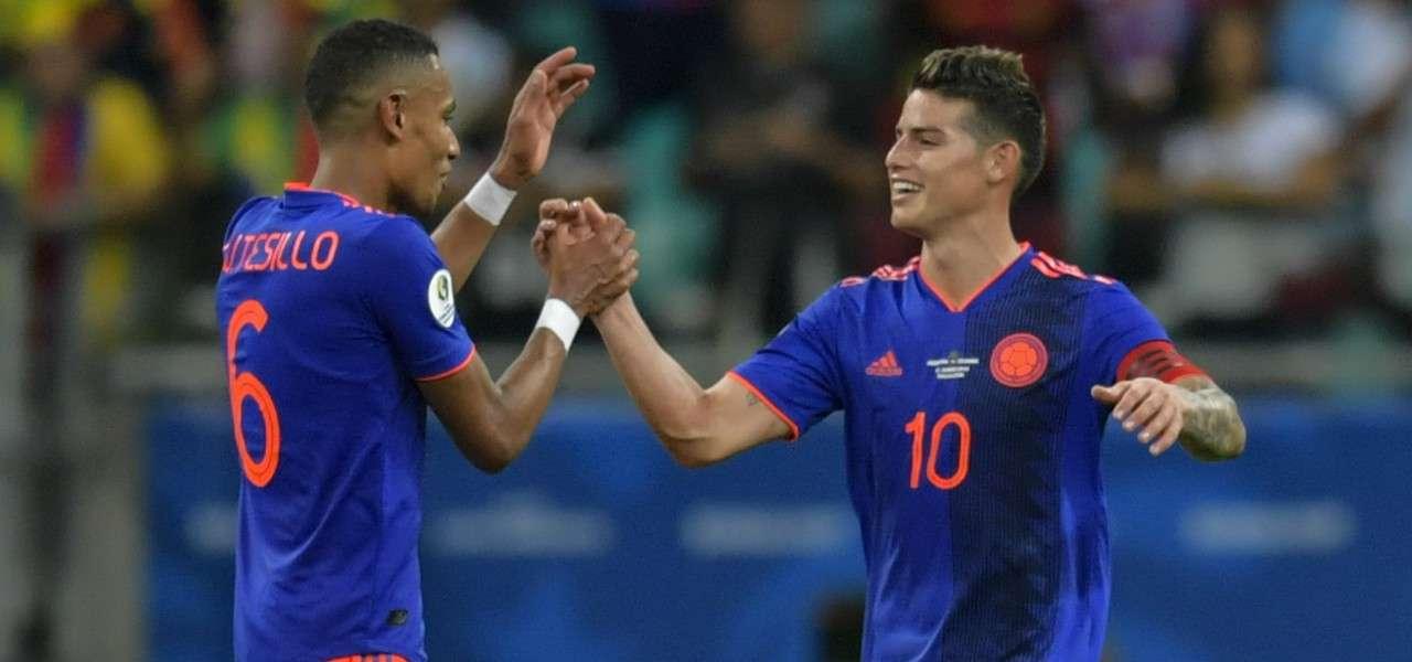 Tesillo James Colombia gol lapresse 2019