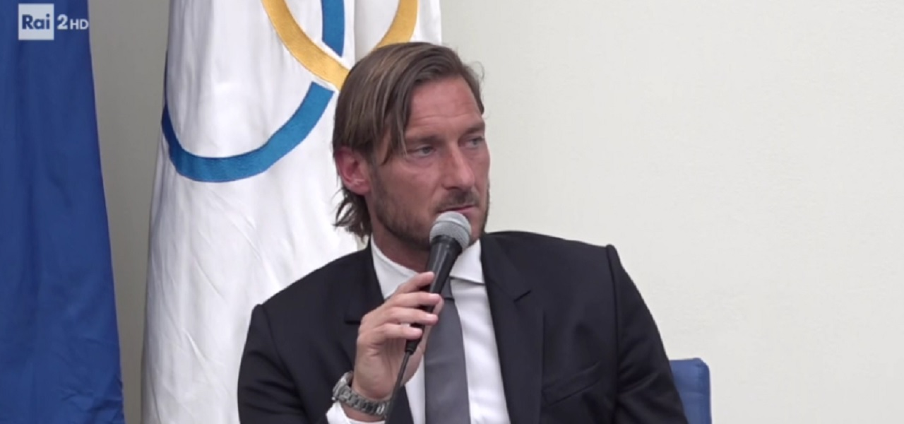 francesco totti conferenza