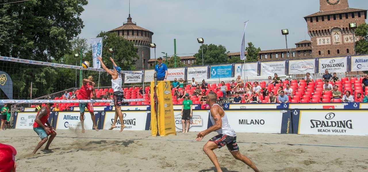 Milano Volley Week Castello beach volley lapresse 2019