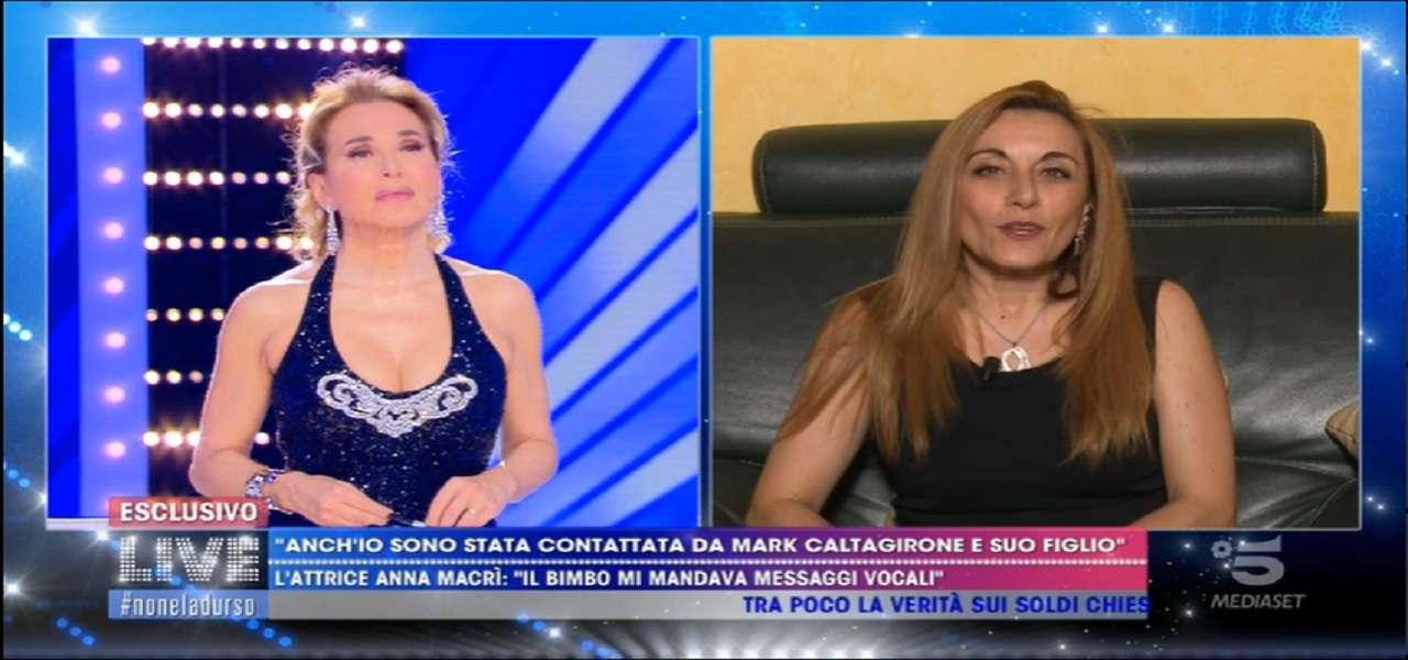 """Anna Macrì/ """"Mark Caltagirone mi contattava e attaccava Wanda ..."""