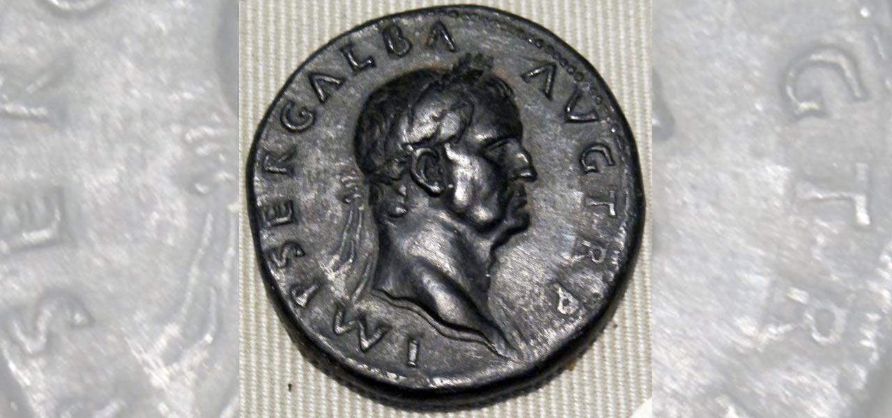 Imperatore Galba, Roma