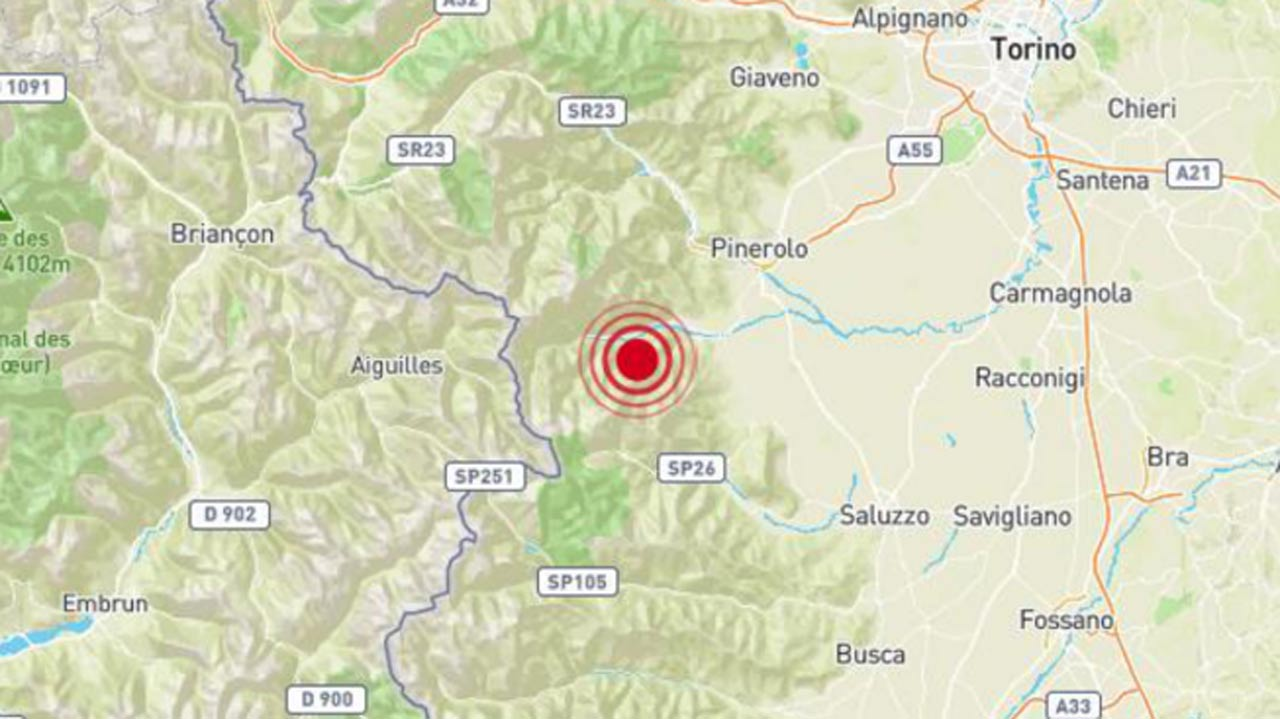 Terremoto Torino