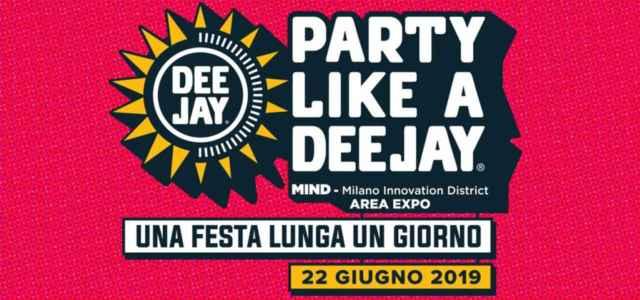 Radio Deejay, il logo del party