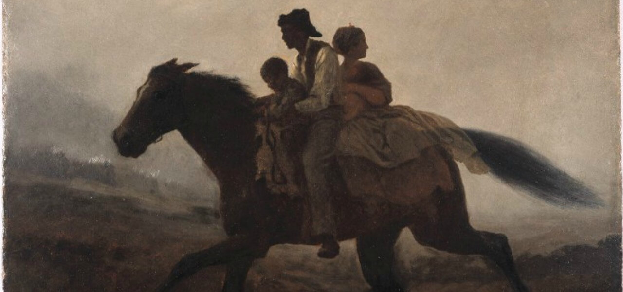 Brooklyn Museum   A Ride for Liberty   The Fugitive Slaves   Eastman Johnson   overall