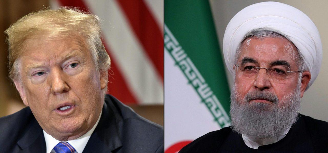 Trump vs Rohani