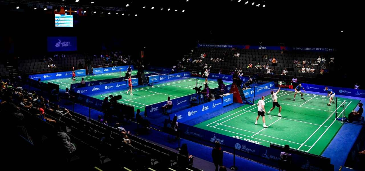 badminton European Games