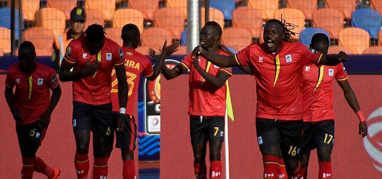 Uganda gol esultanza lapresse 2019