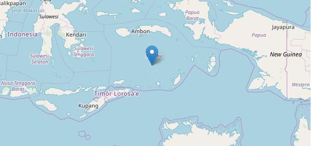 terremoto indonesia ingv