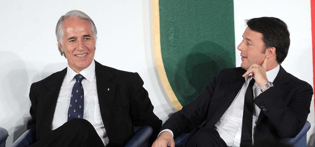 Malagò e Renzi