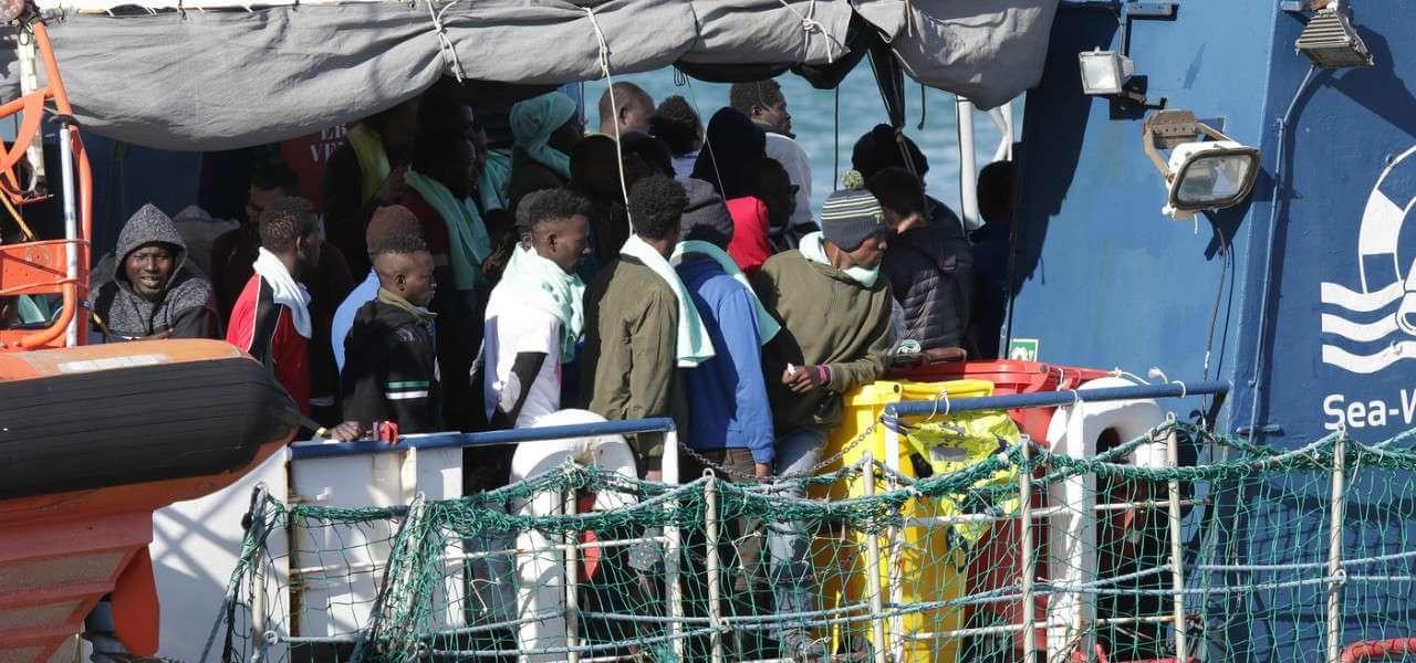 immigrazione migranti ong seawatch 3 lapressse1280