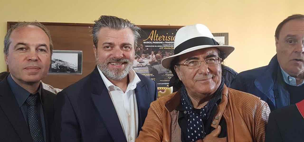 Albano e Alterisio Paoletti a Serata Biagio Agnes