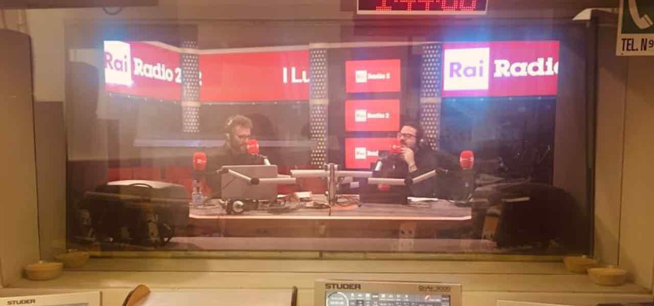 Roberto Arduini e Andrea Di Ciancio a Serata Biagio Agnes