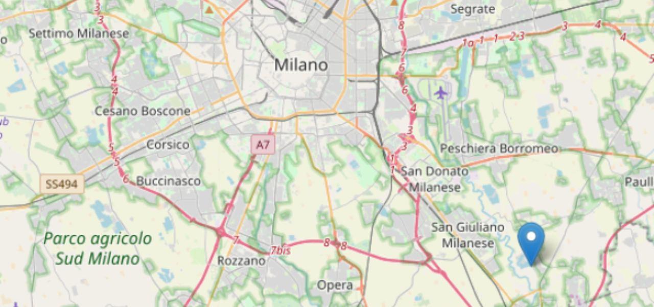 Terremoto a Milano