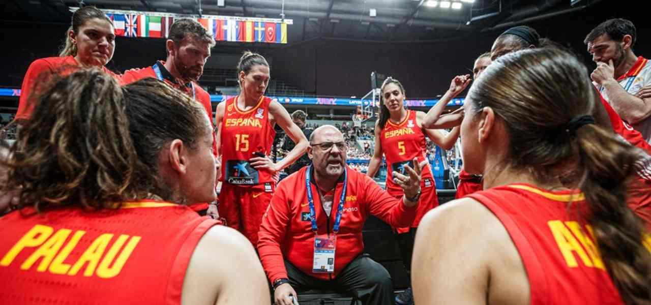 nazionale basket femminile donne spagna fiba 2019